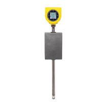 Thermal flow meter / mass / for gas / insertion