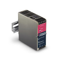 AC/DC power supply / DIN rail / robust / for harsh environments