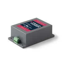 DIN rail DC/DC converter / chassis-mounted / encapsulated / with plastic housing