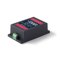 AC/DC power supply / encapsulated / for printed circuit boards / low-profile