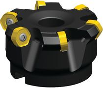 Heavy-duty milling cutter / face / 2-flute / indexable insert
