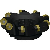 Face milling cutter / 2-flute / indexable insert