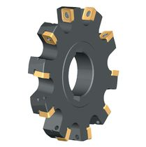 Slot milling cutter / tangential / indexable insert