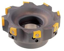 Face milling cutter / shell-end / indexing