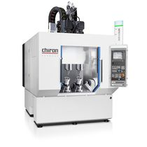 CNC machining center / 5-axis / vertical / double-spindle