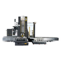 3-axis CNC milling machine / horizontal / traveling-column / high-performance