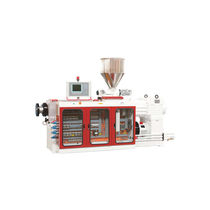 Profile extruder / for PVC / conical twin-screw