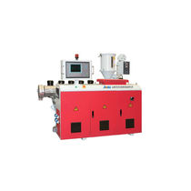 Profile extruder / for PVC / for PC / single-screw