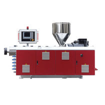 Tube extruder / for HDPE / single-screw / grooved feed