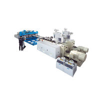 Tube extrusion line / for HDPE / for PP / for PVC