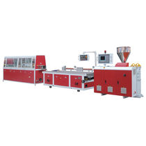 Profile extrusion line / for ABS / for PE / for PVC