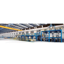 Sheet extrusion line / for PE
