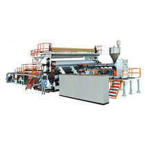 Sheet extrusion line / for PE / for PVC / multilayer