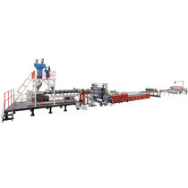 Panel extrusion line / for ABS / for PE / for HDPE