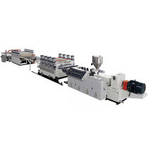 Panel extrusion line / for WPC / for PVC