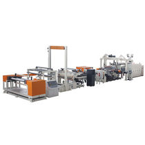 Sheet extrusion line / for PMMA