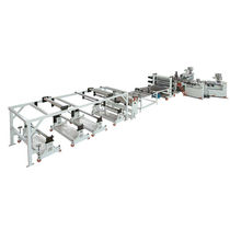 Sheet extrusion line / for PP / multilayer