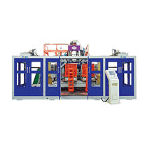 Extrusion blow molding machine / fully-automatic