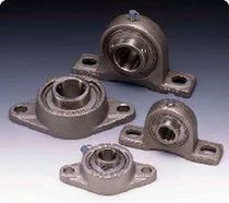 Flange bearing unit / ball bearing / metal