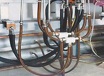 Hydraulic hoses / transport / electrically-conductive / custom