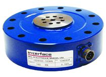 Tension/compression load cell / planar beam / pancake type / with mounting flanges