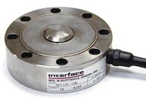 Compression load cell / button type / stainless steel / compact
