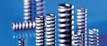 Compression spring / wire / steel / for automobiles