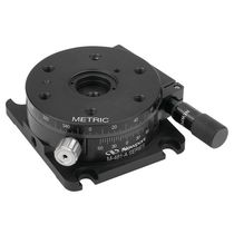 Rotary positioning stage / manual / 1-axis / precision