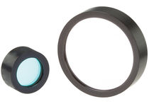 Blue optical filter / in-line / glass / laser