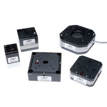 Linear nanopositioning stage / piezoelectric / compact