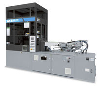 Injection-stretch blow molding machine / for plastic bottles / multi-station