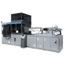 Injection blow molding machine / for PET containers / single-station