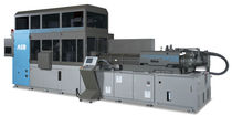 Injection-stretch blow molding machine / for containers with handles / 1.5 step / high-output