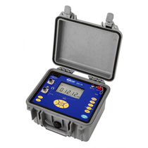 Digital ohmmeter / portable / 4-wire