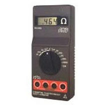 Digital ohmmeter / portable / 4-wire / rugged