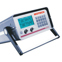 Resistance thermometer / digital / portable / tabletop