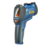 Infrared thermometer / digital / portable / compact