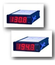 Temperature indicator / digital / panel-mount