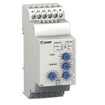 Current monitoring relay / 1 NC / DIN rail / AC/DC
