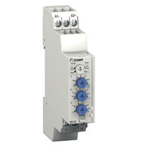 Under-voltage monitoring relay / over-voltage / time delay / adjustable