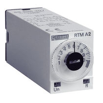 Plug-in time relay / DIN rail mounted