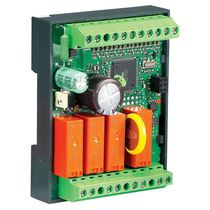 Compact PLC / DIN rail / with integrated I/O