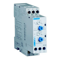 Current monitoring relay / 1 NO / DIN rail / AC/DC