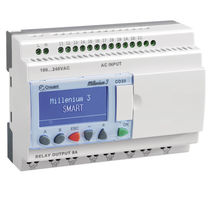 Compact PLC / DIN rail / with integrated I/O / analog inputs
