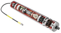 Brushless motorized roller / for conveyors / with integrated circuit board