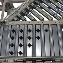 Pop-up roller sorter / automatic / for packaging