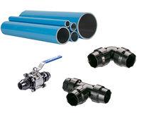 Compressed air pipe / aluminum