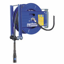 Compressed air hose reel / self-retracting / open-drum / for compressed air