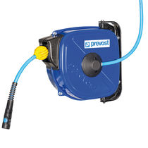 Compressed air hose reel / self-retracting / wall-mounted / swiveling
