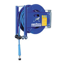 Hose reel / self-retracting / open-drum / for water